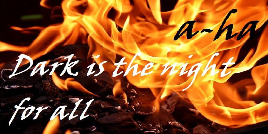 Dark is the Night for all - Feuer (C) Alexas_Fotos CC0 via Pixabay.com - https://pixabay.com/de/feuer-flammen-kohle-brennen-hei%C3%9F-2777580/