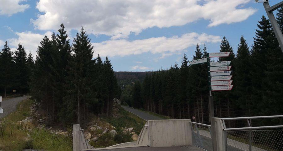 Harz: Landschaft bei Schierke