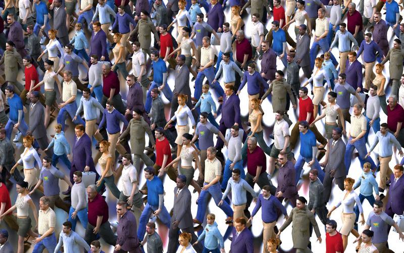 Neue Demokratie - (C) DasWortgewand CC0 via Pixabay.com - https://pixabay.com/de/menschenmenge-m%C3%A4nner-frauen-auflauf-2152653/