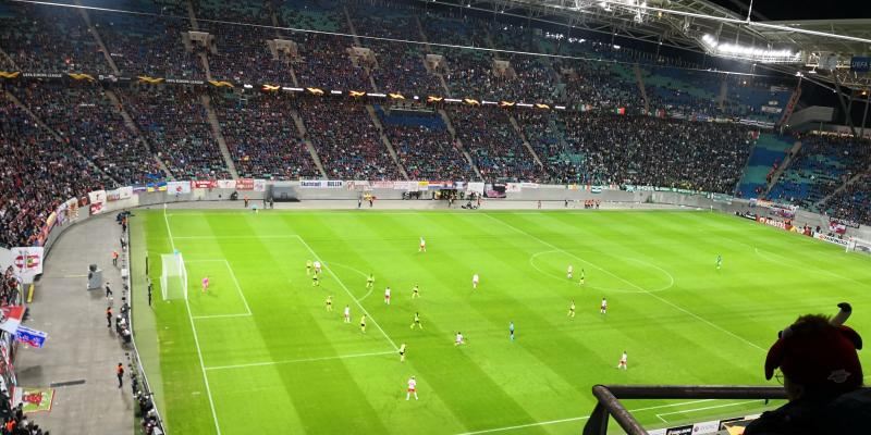RB Leipzig gegen Celtic Glasgow