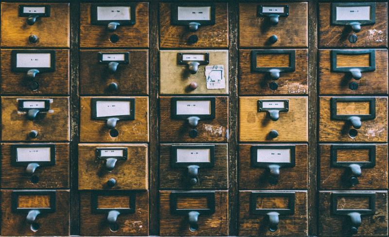 Schubladen sind wie Kategorien - (C) Pexels CC0 via Pixabay.com