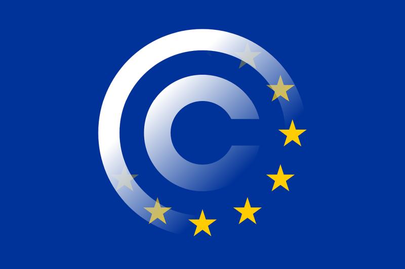 Europäisches Urheberrecht - (C) Clker-Free-Vector-Images CC0 - via Pixabay.com