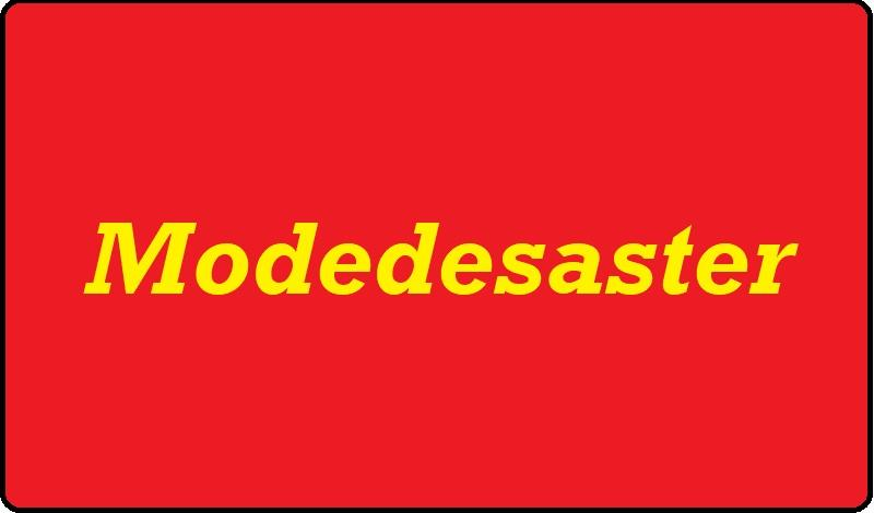 Modedesaster