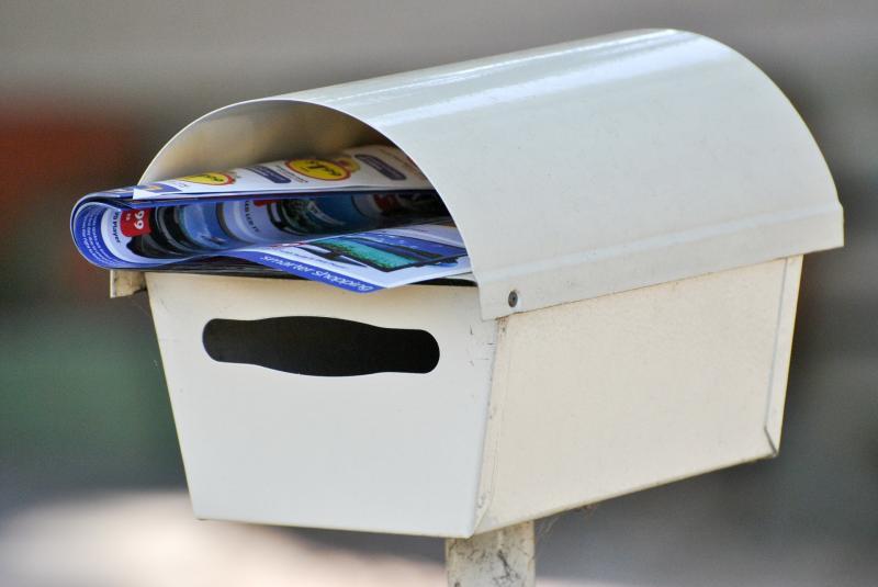 Post im Briefkasten - Postwurfsendung - (C) gillnisha - Pixabay-Lizenz - via Pixabay.com
