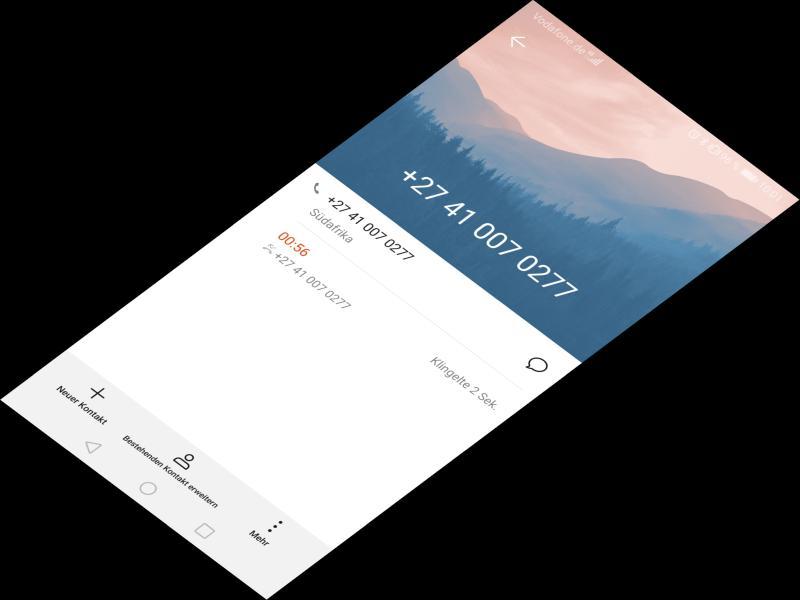 Ping Call - Wer ruft mich aus Südafrika an?