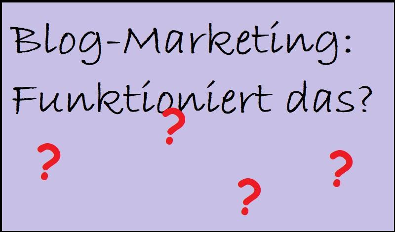 Blog-Marketing: Funktioniert das?
