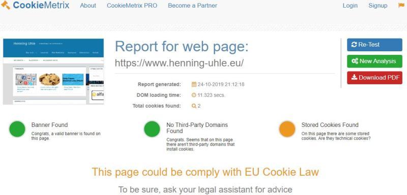 Cookies, VG-Wort und PayPal: Eine Spurensuche