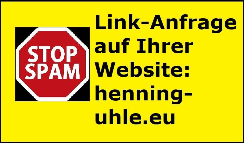 Link-Anfrage auf Ihrer Website: henning-uhle.eu