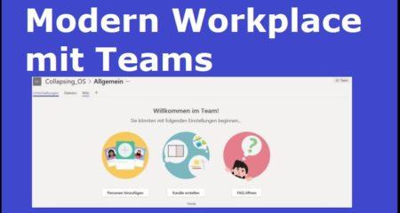 Modern Workplace mit Teams