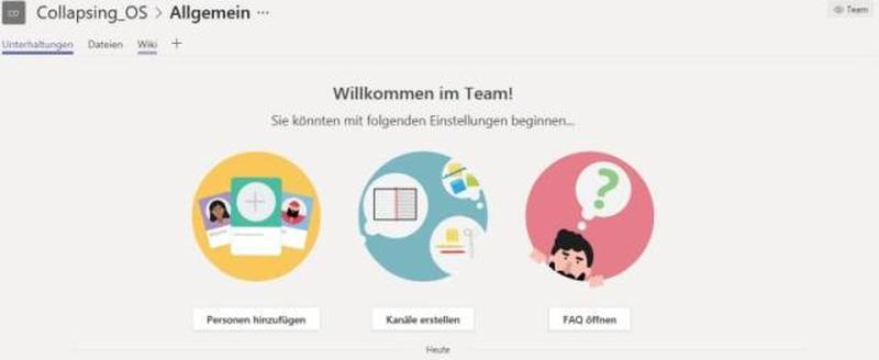 Modern Workplace mit Teams - Eine Betrachtung