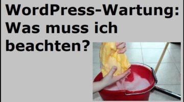 WordPress-Wartung: Was muss ich beachten? - (C) Myriams-Fotos - Pixabay-Lizenz - via Pixabay.com