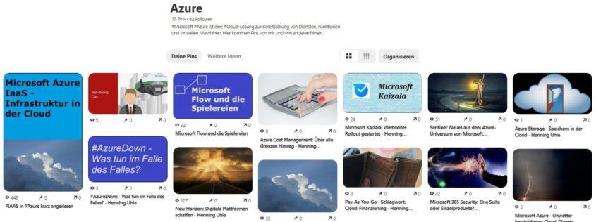 """Die Pinnwand """"Azure"""" ist die Ausgangsbasis für die Pinterest-KI"""