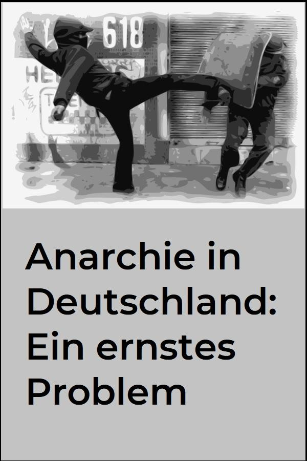Anarchie in Deutschland: Ein ernstes Problem - (C) OpenClipartVectors CC0 via Pixabay.de