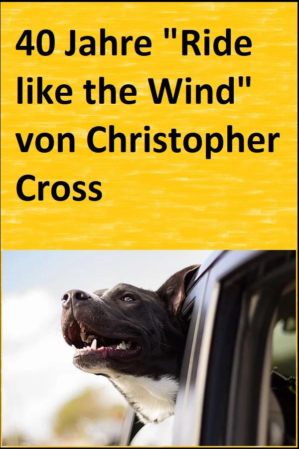 "40 Jahre ""Ride like the Wind"" von Christopher Cross - (C) Free-Photos - Pixabay-Lizenz - via Pixabay.com"
