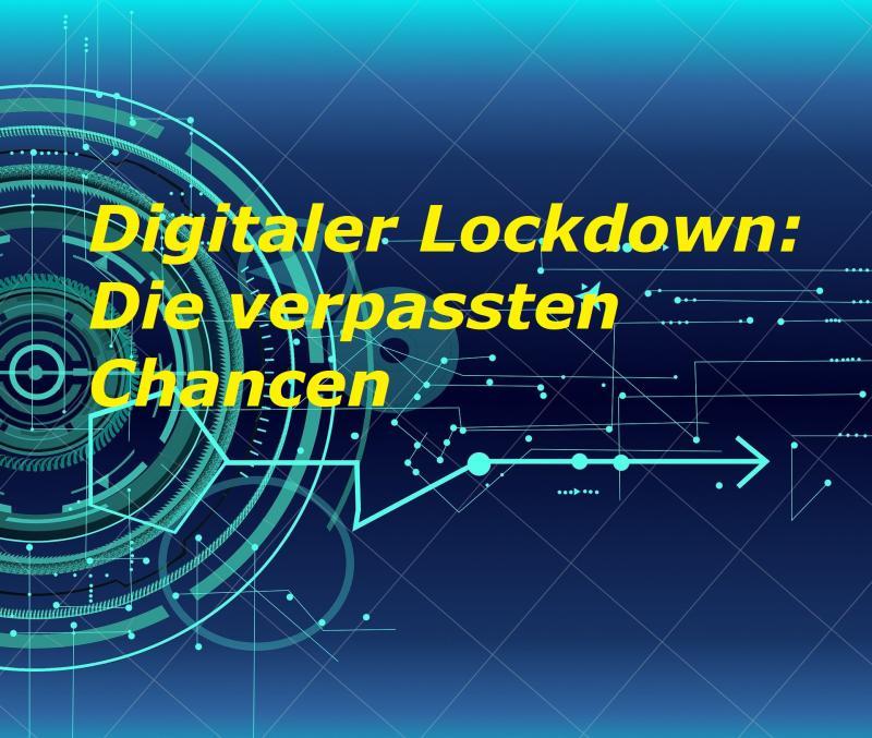 Digitaler Lockdown: Die verpassten Chancen - Bild von Aneta Esz auf Pixabay