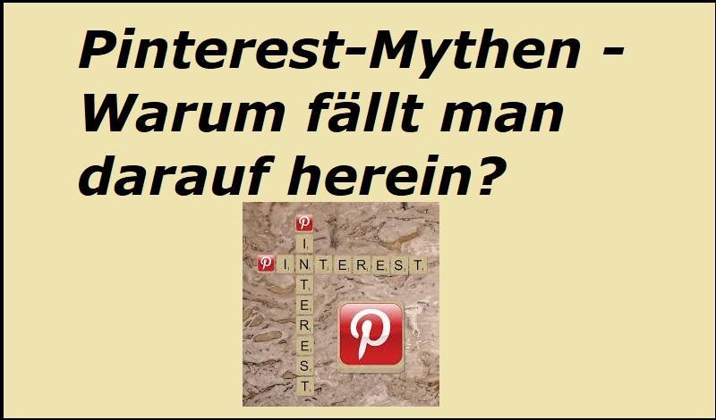 Pinterest-Mythen - Warum fällt man darauf herein? - Bild von Kevin Phillips auf Pixabay
