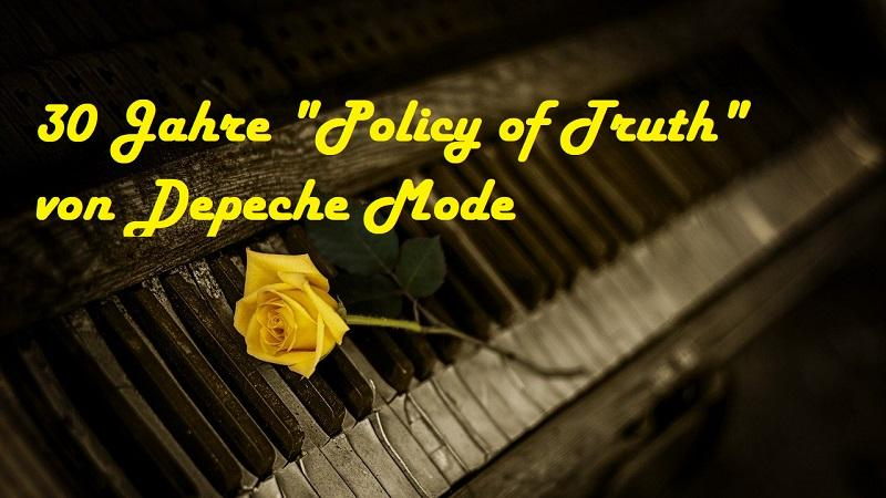 "30 Jahre ""Policy of Truth"" von Depeche Mode - (C) MartyNZ - Pixabay-Lizenz - via Pixabay.com"