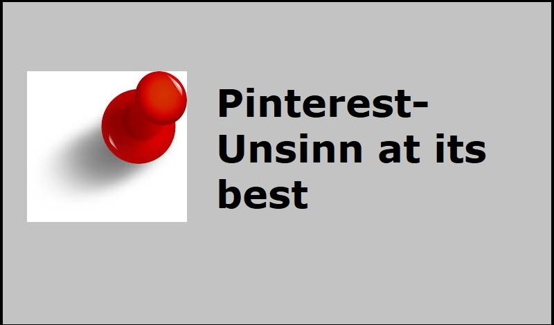 Pinterest-Unsinn at its best - Bild von OpenClipart-Vectors - Pixabay-Lizenz