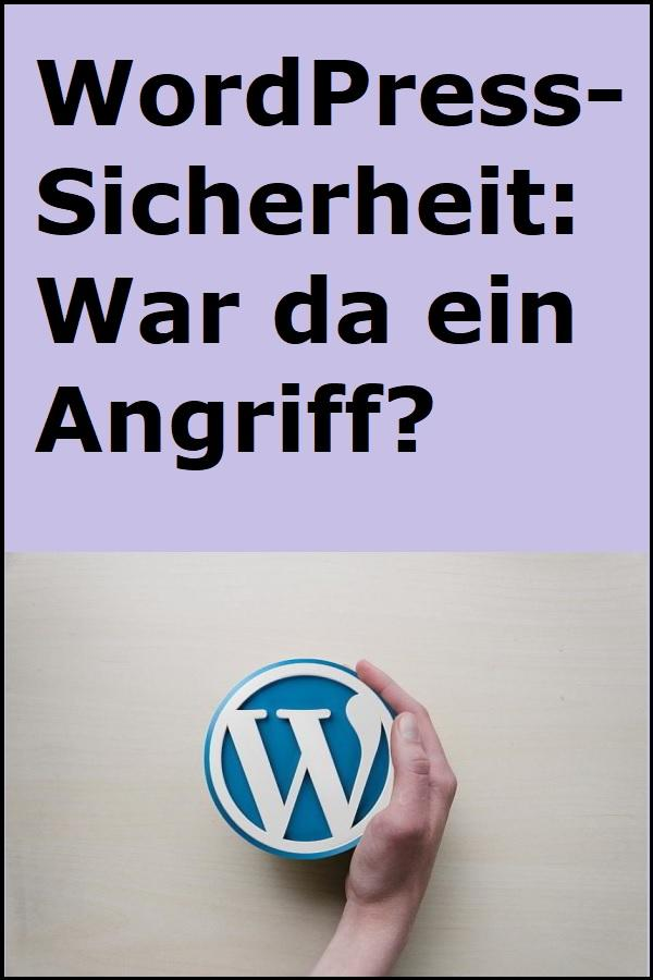 WordPress-Sicherheit: War da ein Angriff? - (C) kpgolfpro CC0 via pixabay.de