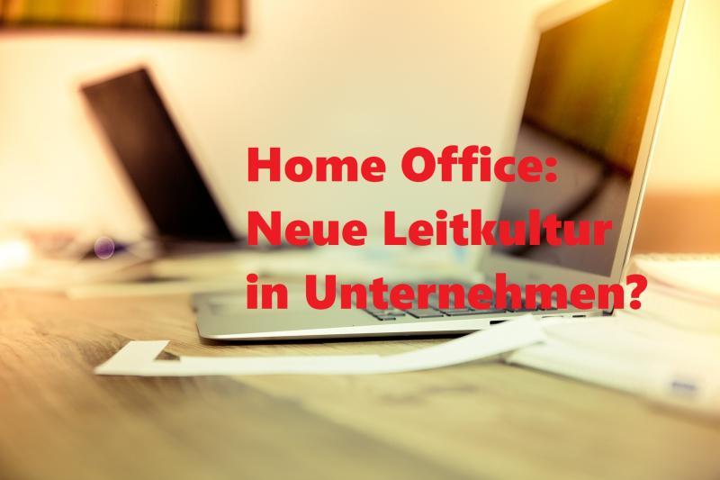 Home Office: Neue Leitkultur in Unternehmen? - Bild von Markus Spiske auf Pixabay