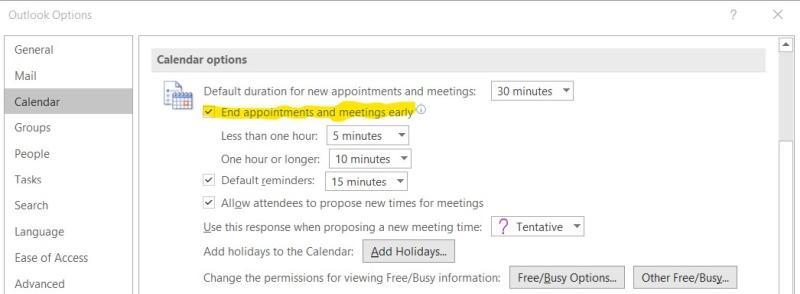Mit einem Outlook-Helferlein durchatmen zwischen Meetings