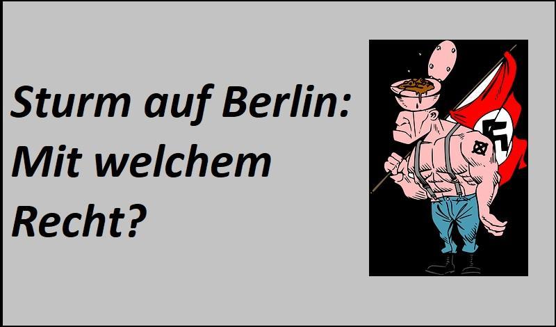 Sturm auf Berlin - Bild von OpenClipart-Vectors auf Pixabay