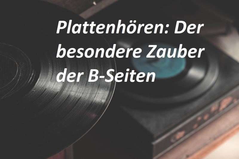 Plattenhören: Der besondere Zauber der B-Seiten - Bild von Pexels auf Pixabay