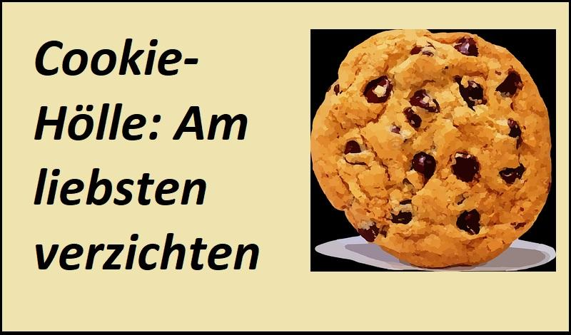 Cookie-Hölle: Am liebsten verzichten - Bild von Clker-Free-Vector-Images auf Pixabay