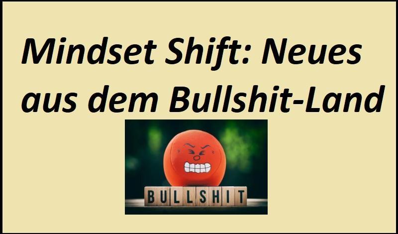 Mindset Shift: Neues aus dem Bullshit-Land - Bild von Alexas_Fotos auf Pixabay