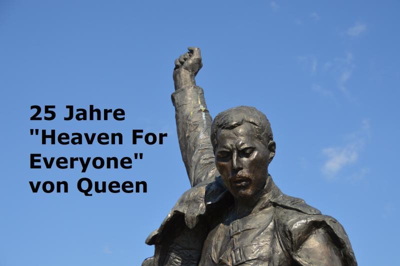 """25 Jahre """"Heaven For Everyone"""" von Queen - Bild von Roger Duvoisin auf Pixabay"""