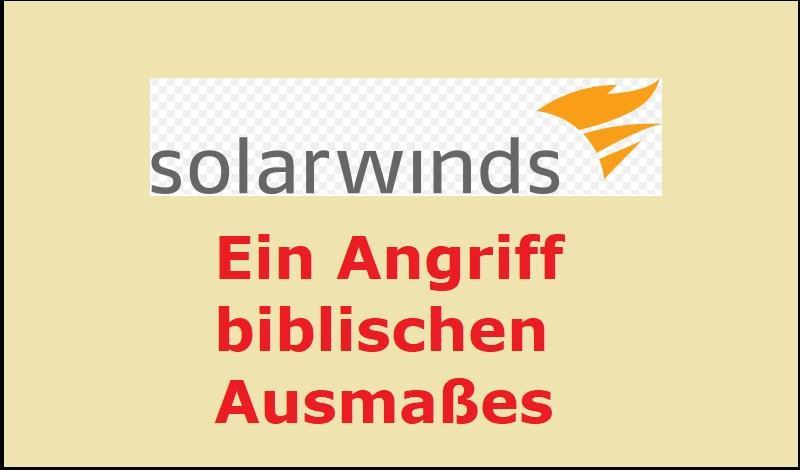 Solarwinds: Ein Angriff biblischen Ausmaßes - B.tavakkoli, Public domain, via Wikimedia Commons
