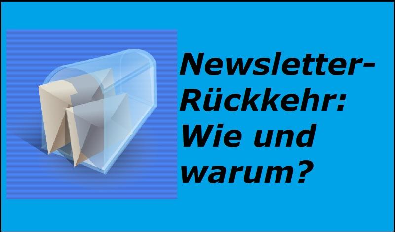 Newsletter-Rückkehr: Wie und warum? - Bild von Clker-Free-Vector-Images auf Pixabay