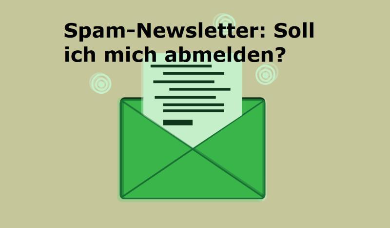 Spam-Newsletter: Soll ich mich abmelden? - Bild von Ovidiu Tepes auf Pixabay
