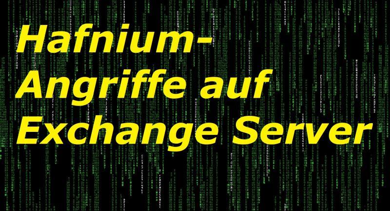 Hafnium-Angriffe auf Exchange Server - Bild von Tobias_ET auf Pixabay
