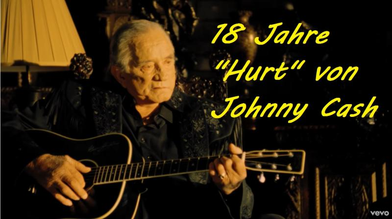 "18 Jahre ""Hurt"" von Johnny Cash - Screenshot von YouTube/"