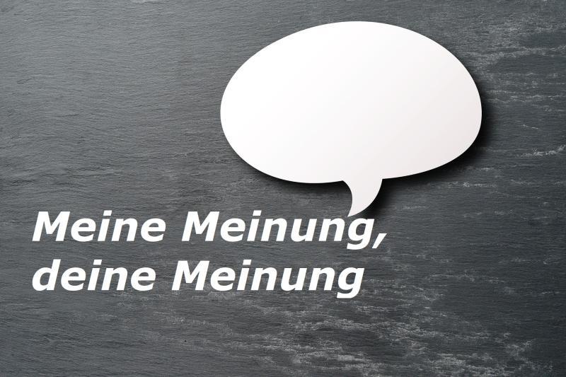 Meine Meinung, deine Meinung - Bild von Thanks for your Like • donations welcome auf Pixabay