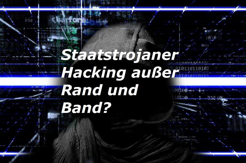 Staatstrojaner - Hacking außer Rand und Band? - Bild von Pete Linforth auf Pixabay