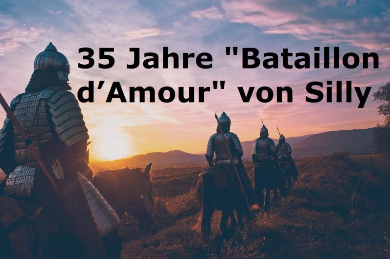 """35 Jahre """"Bataillon d'Amour"""" von Silly - Bild von Devanath auf Pixabay"""