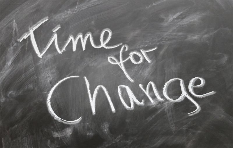 Time For Change - So geht's nicht weiter - Bild von Gerd Altmann auf Pixabay