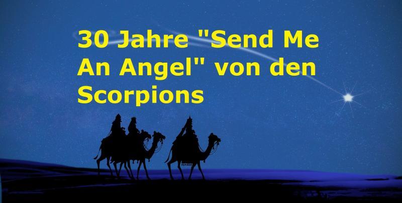 """30 Jahre """"Send Me An Angel"""" von den Scorpions - Bild von Angeles Balaguer auf Pixabay"""