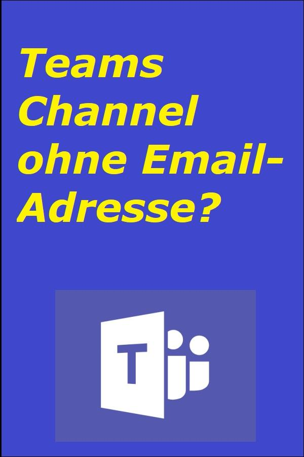 Teams Channel ohne Email-Adresse? - Microsoft, CC BY-SA 4.0 https://creativecommons.org/licenses/by-sa/4.0, via Wikimedia Commons